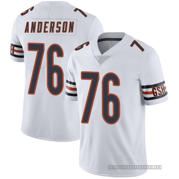Abdullah Anderson Chicago Bears Limited White Vapor Untouchable Jersey
