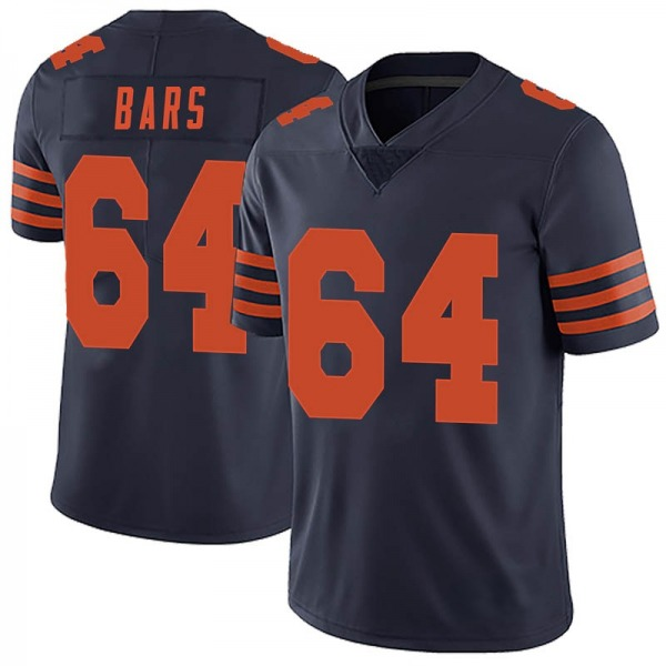Alex Bars Chicago Bears Limited Navy Blue Alternate Vapor Untouchable Jersey