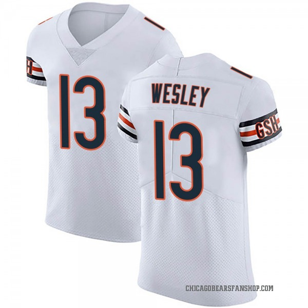 Alex Wesley Chicago Bears Elite White Vapor Untouchable Jersey