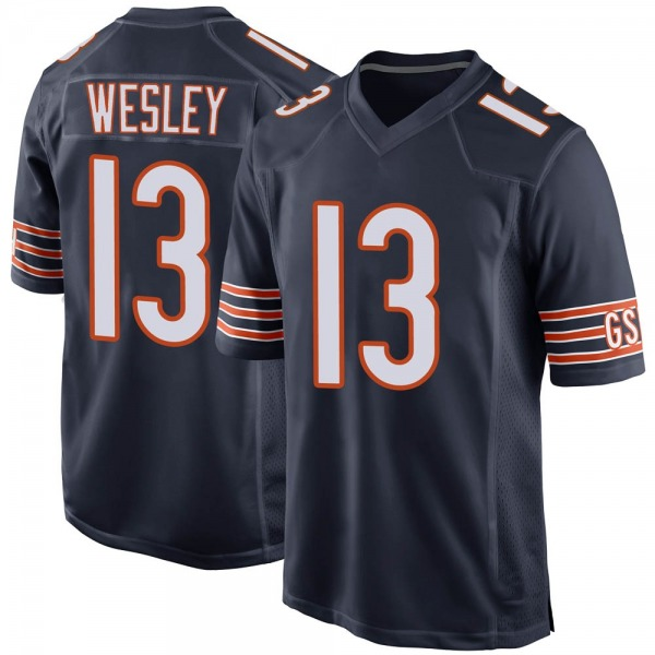 Alex Wesley Chicago Bears Game Navy Team Color Jersey
