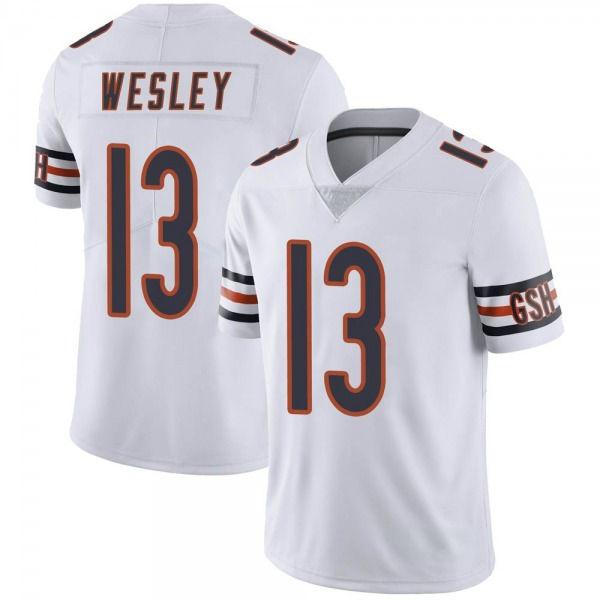Alex Wesley Chicago Bears Limited White Vapor Untouchable Jersey