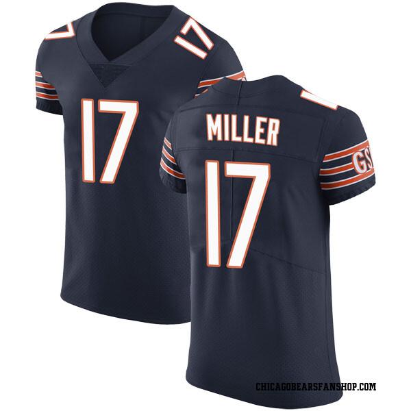 Anthony Miller Chicago Bears Elite Navy Team Color Vapor Untouchable Jersey