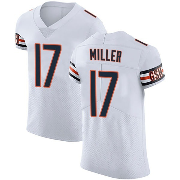 Anthony Miller Chicago Bears Elite White Vapor Untouchable Jersey