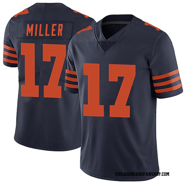 Anthony Miller Chicago Bears Limited Navy Blue Alternate Vapor Untouchable Jersey