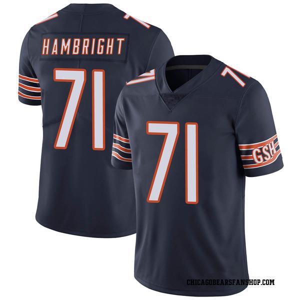 Arlington Hambright Chicago Bears Limited Navy Team Color Vapor Untouchable Jersey