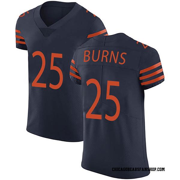 Artie Burns Chicago Bears Elite Navy Blue Alternate Vapor Untouchable Jersey