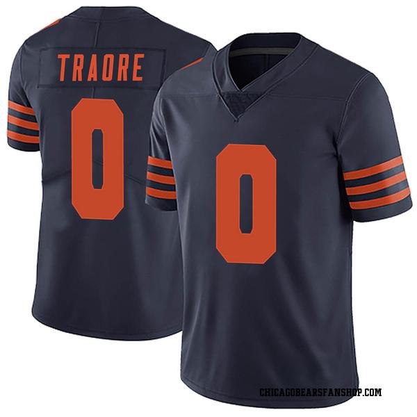 Badara Traore Chicago Bears Limited Navy Blue Alternate Vapor Untouchable Jersey