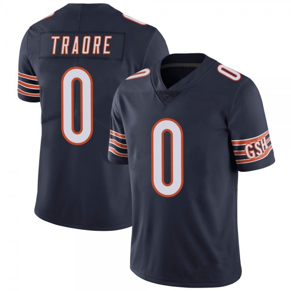 Badara Traore Chicago Bears Limited Navy Team Color Vapor Untouchable Jersey