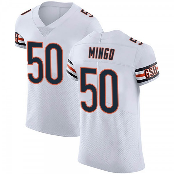 Barkevious Mingo Chicago Bears Elite White Vapor Untouchable Jersey