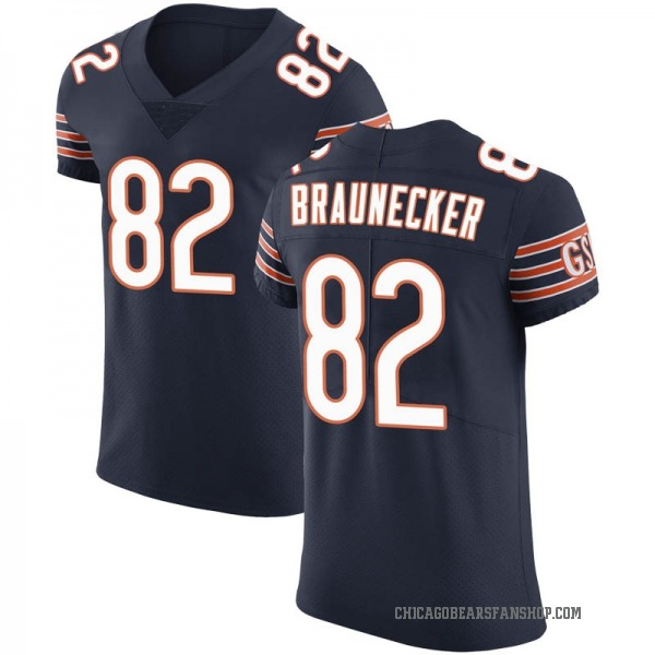 Ben Braunecker Chicago Bears Elite Navy Team Color Vapor Untouchable Jersey