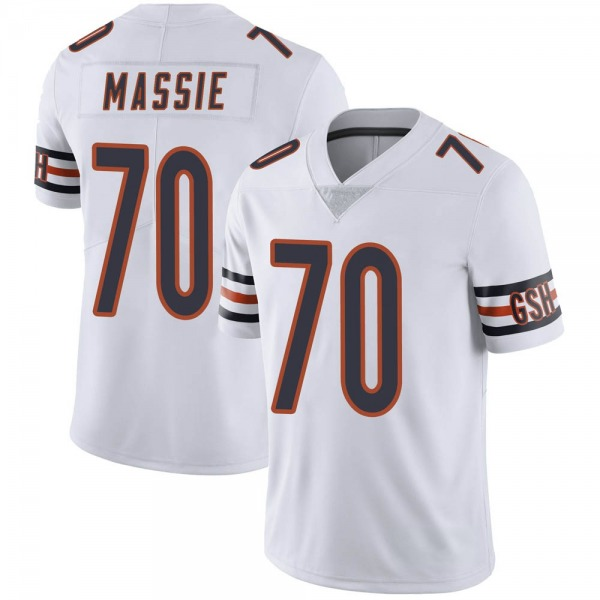 Bobby Massie Chicago Bears Limited White Vapor Untouchable Jersey