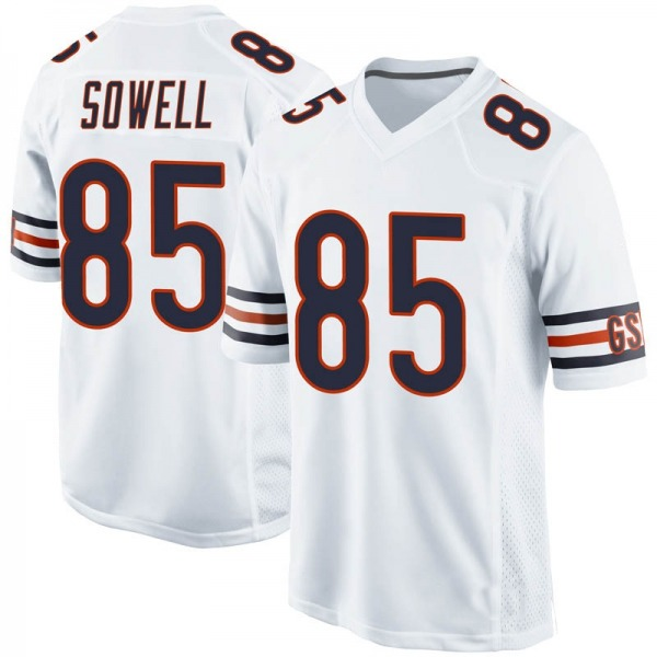 Bradley Sowell Chicago Bears Game White Jersey