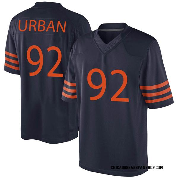 Brent Urban Chicago Bears Game Navy Blue Alternate Jersey