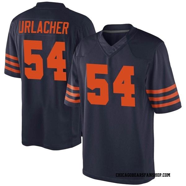Brian Urlacher Chicago Bears Game Navy Blue Alternate Jersey