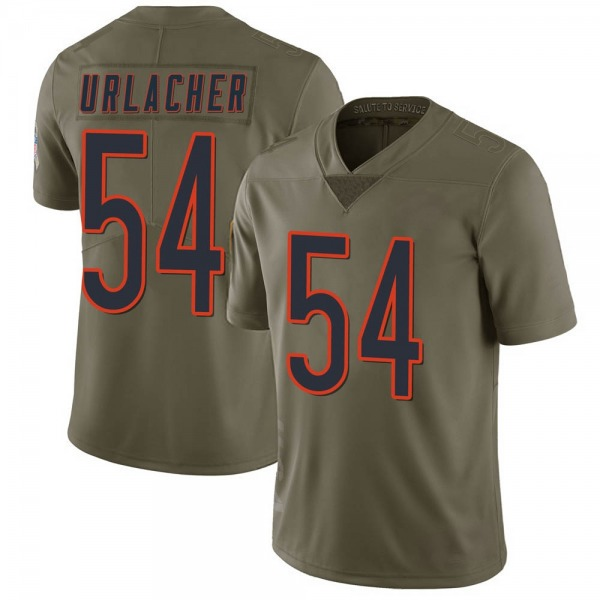 Brian Urlacher Chicago Bears Limited Green 2017 Salute to Service Jersey