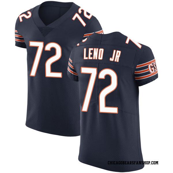 Charles Leno Jr. Chicago Bears Elite Navy Team Color Vapor Untouchable Jersey