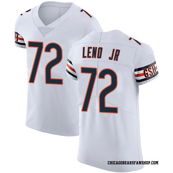 Charles Leno Jr. Chicago Bears Elite White Vapor Untouchable Jersey