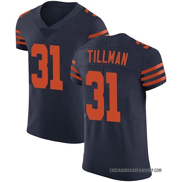 Charles Tillman Chicago Bears Elite Navy Blue Alternate Vapor Untouchable Jersey