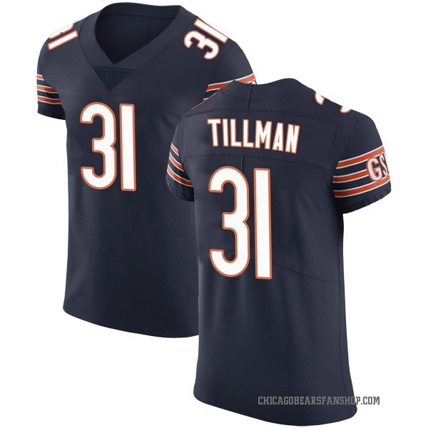 Charles Tillman Chicago Bears Elite Navy Team Color Vapor Untouchable Jersey