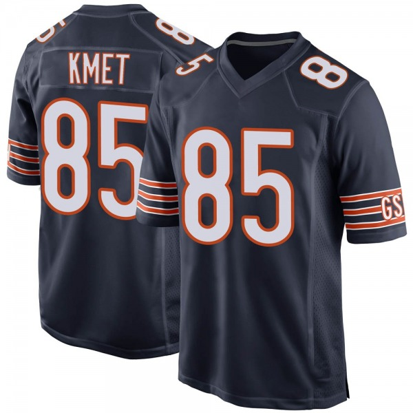Cole Kmet Chicago Bears Game Navy Team Color Jersey