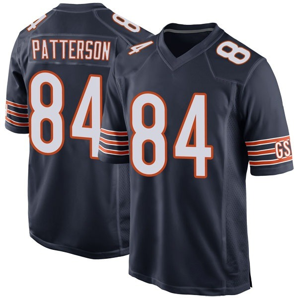 Cordarrelle Patterson Chicago Bears Game Navy Team Color Jersey