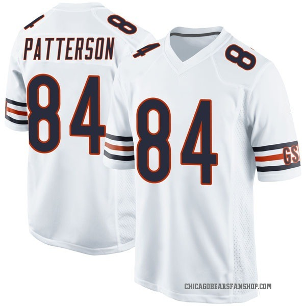 Cordarrelle Patterson Chicago Bears Game White Jersey
