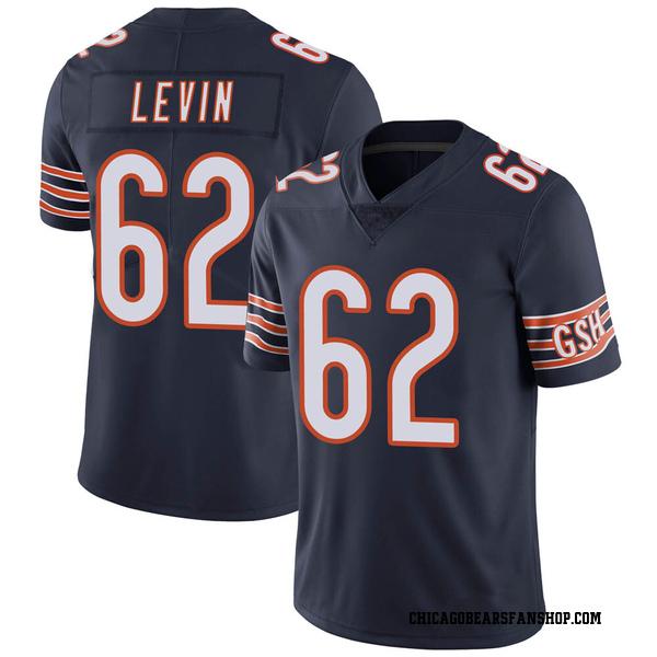 Corey Levin Chicago Bears Limited Navy Team Color Vapor Untouchable Jersey