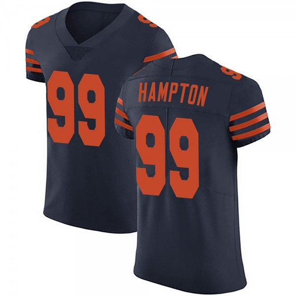 Dan Hampton Chicago Bears Elite Navy Blue Alternate Vapor Untouchable Jersey