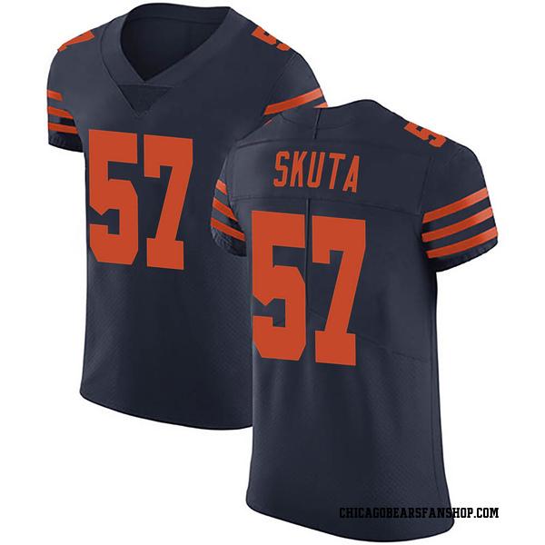 Dan Skuta Chicago Bears Elite Navy Blue Alternate Vapor Untouchable Jersey