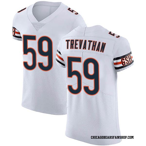 Danny Trevathan Chicago Bears Elite White Vapor Untouchable Jersey