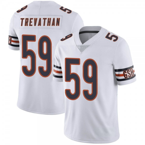 Danny Trevathan Chicago Bears Limited White Vapor Untouchable Jersey
