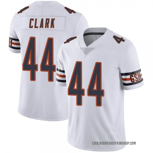 Darion Clark Chicago Bears Limited White Vapor Untouchable Jersey