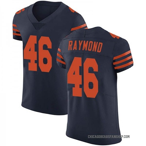 Dax Raymond Chicago Bears Elite Navy Blue Alternate Vapor Untouchable Jersey