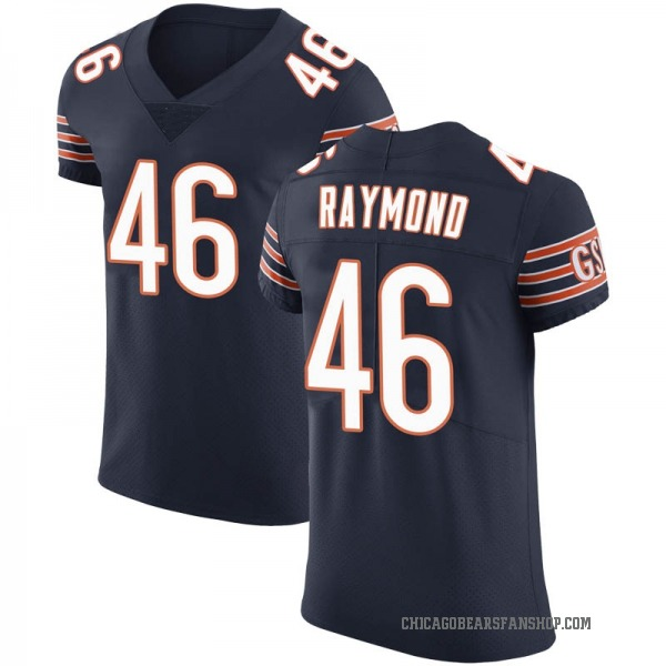 Dax Raymond Chicago Bears Elite Navy Team Color Vapor Untouchable Jersey