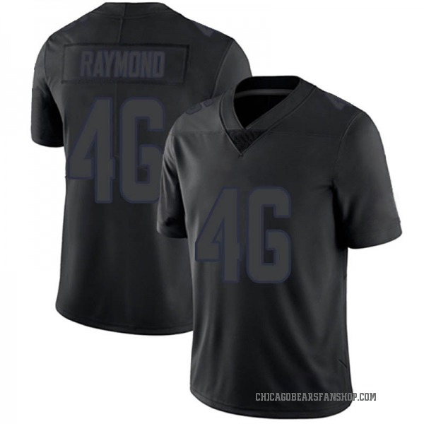 Dax Raymond Chicago Bears Limited Black Impact Jersey