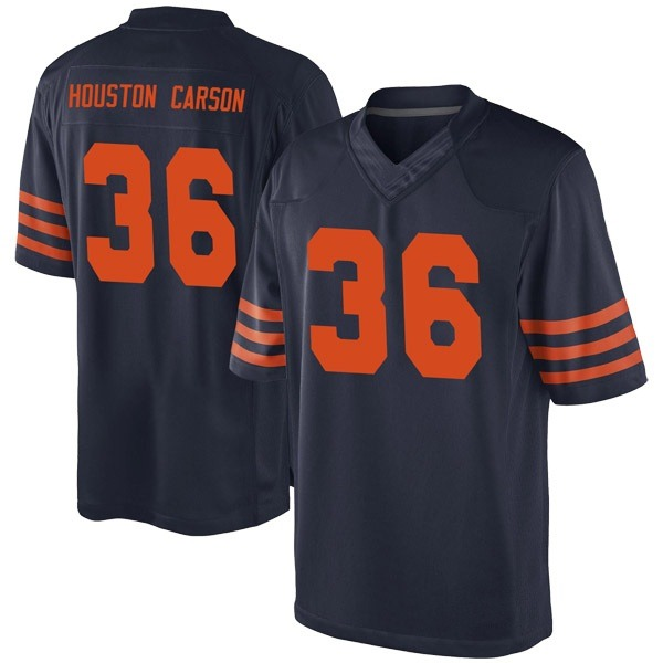 DeAndre Houston-Carson Chicago Bears Game Navy Blue Alternate Jersey