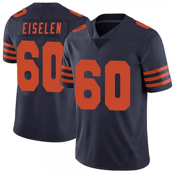 Dieter Eiselen Chicago Bears Limited Navy Blue Alternate Vapor Untouchable Jersey