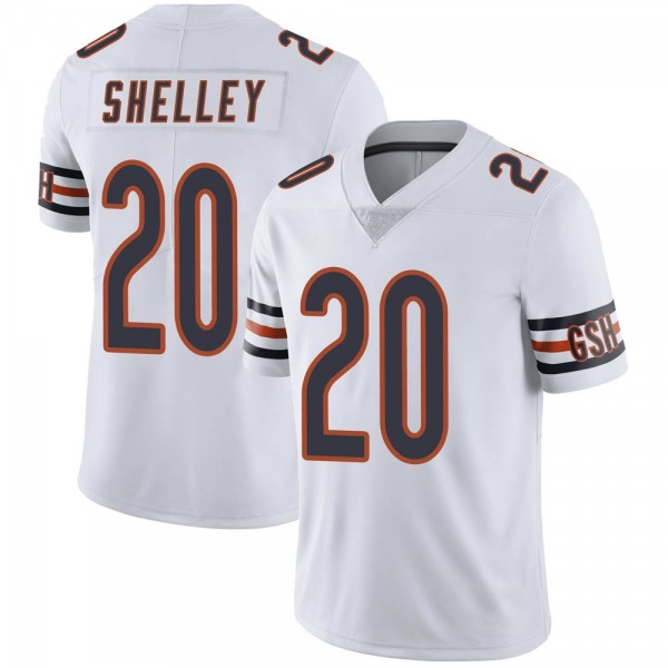 Duke Shelley Chicago Bears Limited White Vapor Untouchable Jersey