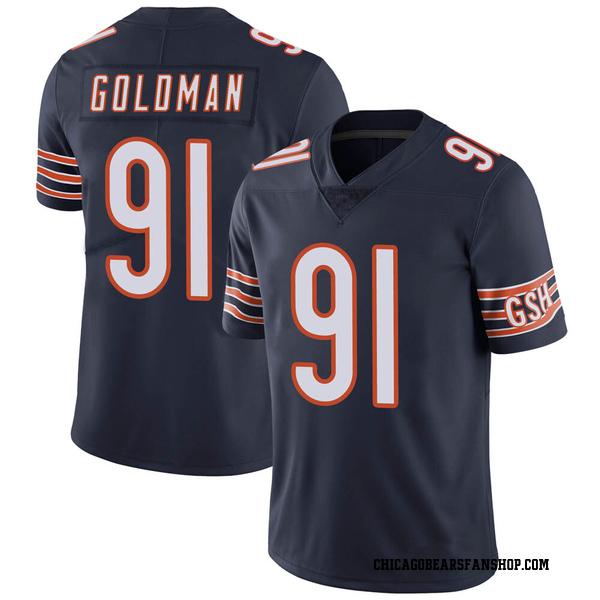 Eddie Goldman Chicago Bears Limited Navy Team Color Vapor Untouchable Jersey