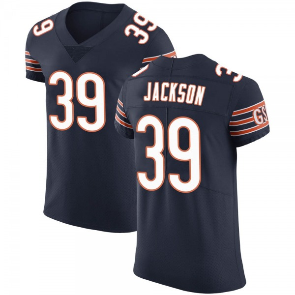Eddie Jackson Chicago Bears Elite Navy Team Color Vapor Untouchable Jersey