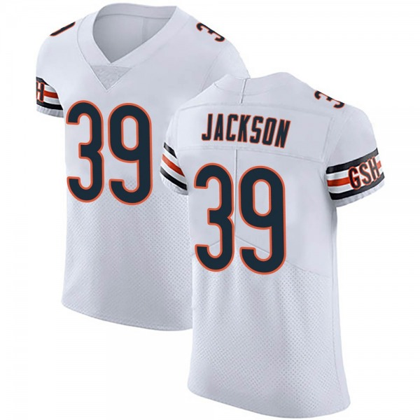 Eddie Jackson Chicago Bears Elite White Vapor Untouchable Jersey