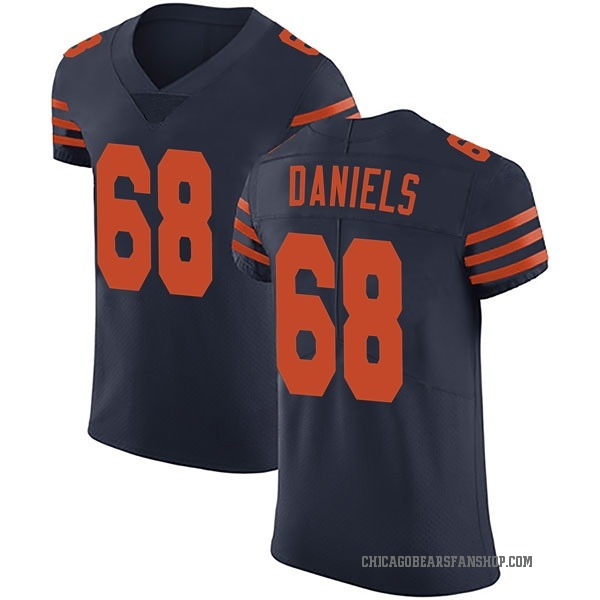James Daniels Chicago Bears Elite Navy Blue Alternate Vapor Untouchable Jersey