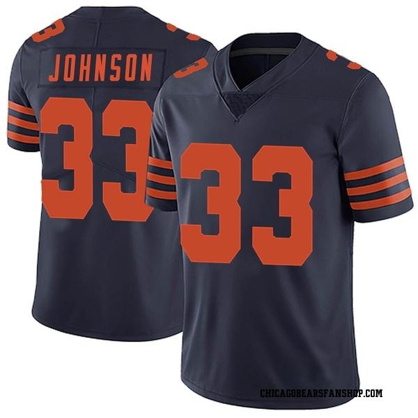 Jaylon Johnson Chicago Bears Limited Navy Blue Alternate Vapor Untouchable Jersey
