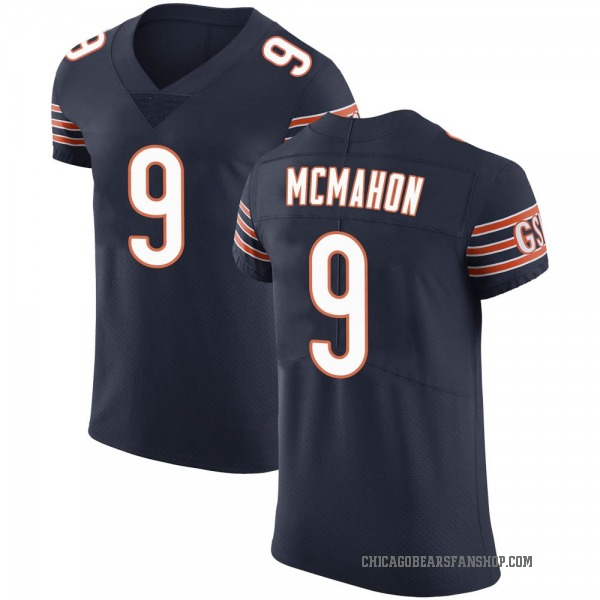Jim McMahon Chicago Bears Elite Navy Team Color Vapor Untouchable Jersey