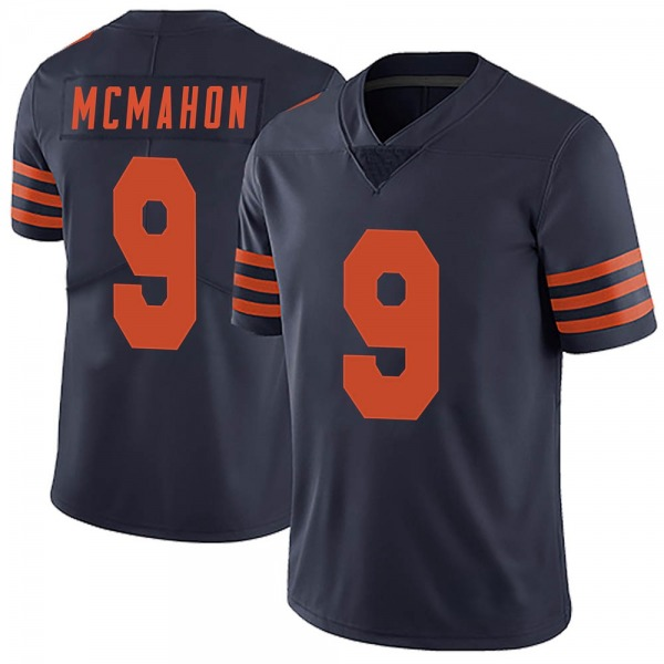 Jim McMahon Chicago Bears Limited Navy Blue Alternate Vapor Untouchable Jersey