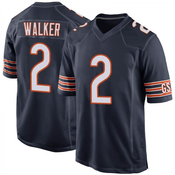 Joe Walker Chicago Bears Game Navy 100th Season Jersey