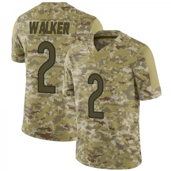 Joe Walker Chicago Bears Limited Camo 2018 Salute to Service Jersey