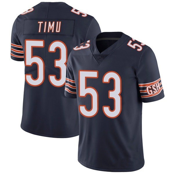 John Timu Chicago Bears Limited Navy Team Color Vapor Untouchable Jersey