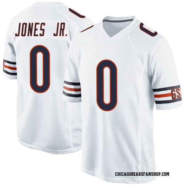 Keandre Jones Chicago Bears Game White Jersey