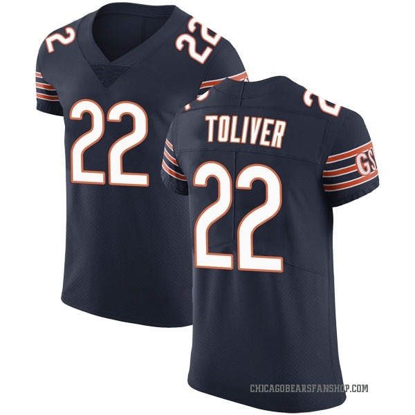 Kevin Toliver Chicago Bears Elite Navy Team Color Vapor Untouchable Jersey